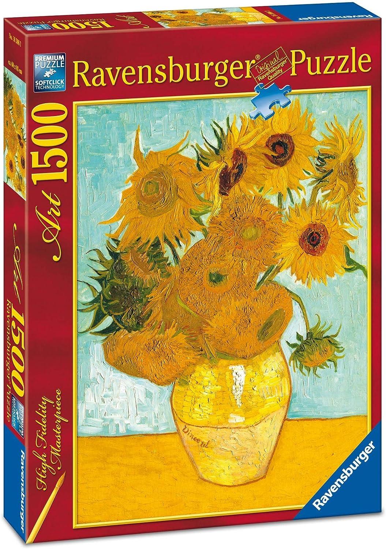 Ravensburger - Van Gogh, Los Girasoles, Puzzle de 1500 Piezas ...