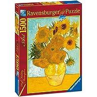 Ravensburger, Rompecabezas Van Gogh: Girasoles, 1500 Piezas