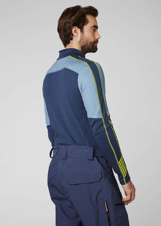 Helly Hansen Mens Lifa Merino 1//2 Zip Baselayer Longsleeve T-Shirt