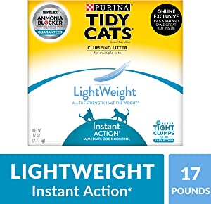 Purina Tidy Cats LightWeight Instant Action Clumping Cat Litter