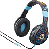 Kids Headphones for Kids Coco Adjustable Stereo Tangle-Free 3.5mm Jack Wired Cord Over Ear Headset for Children Parental Volume Control Kid Friendly Safe Perfect for School Home and Travel