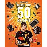 CrispyRobs Meine Top 50 Rezepte: Schnelle und einfache Gerichte für Sandwichmaker, Mikrowelle, Waffeleisen, Herd und Backofen.