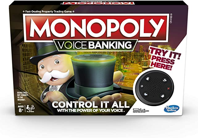 Hasbro Monopoly Voice Banking Electronic Family Board Game: Amazon.es: Juguetes y juegos