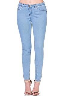 Amazon.com: Monkey Ride - Pantalones vaqueros para mujer con ...