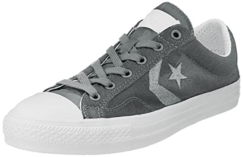 25a09cf1bb92ac Converse International Unisex Grey Canvas Sneakers - 11 UK  Buy Online at  Low Prices in India - Amazon.in