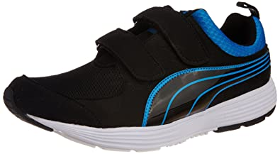 Puma Men's Descendant Slipon Fabric Running Shoes