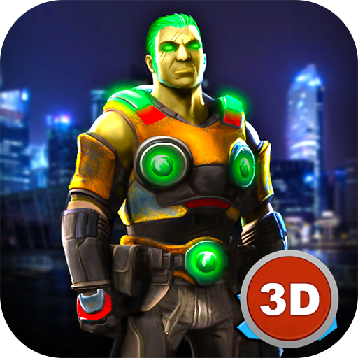- Crime City Fighting: Space Gangster Police vs Robbers | Destroy The World: Battle Run Future Fight Robot War Game
