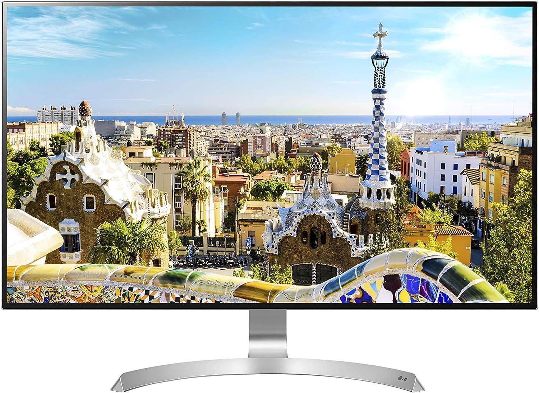 LG 32UD99-W 80 cm (31,5 Zoll) UHD 4K IPS Monitor (HDR10, AMD Radeon  FreeSync, DAS Mode) schwarz weiß