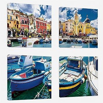 Italienische Hauser Davide Roncara Moderne Ol Malerei Ebay