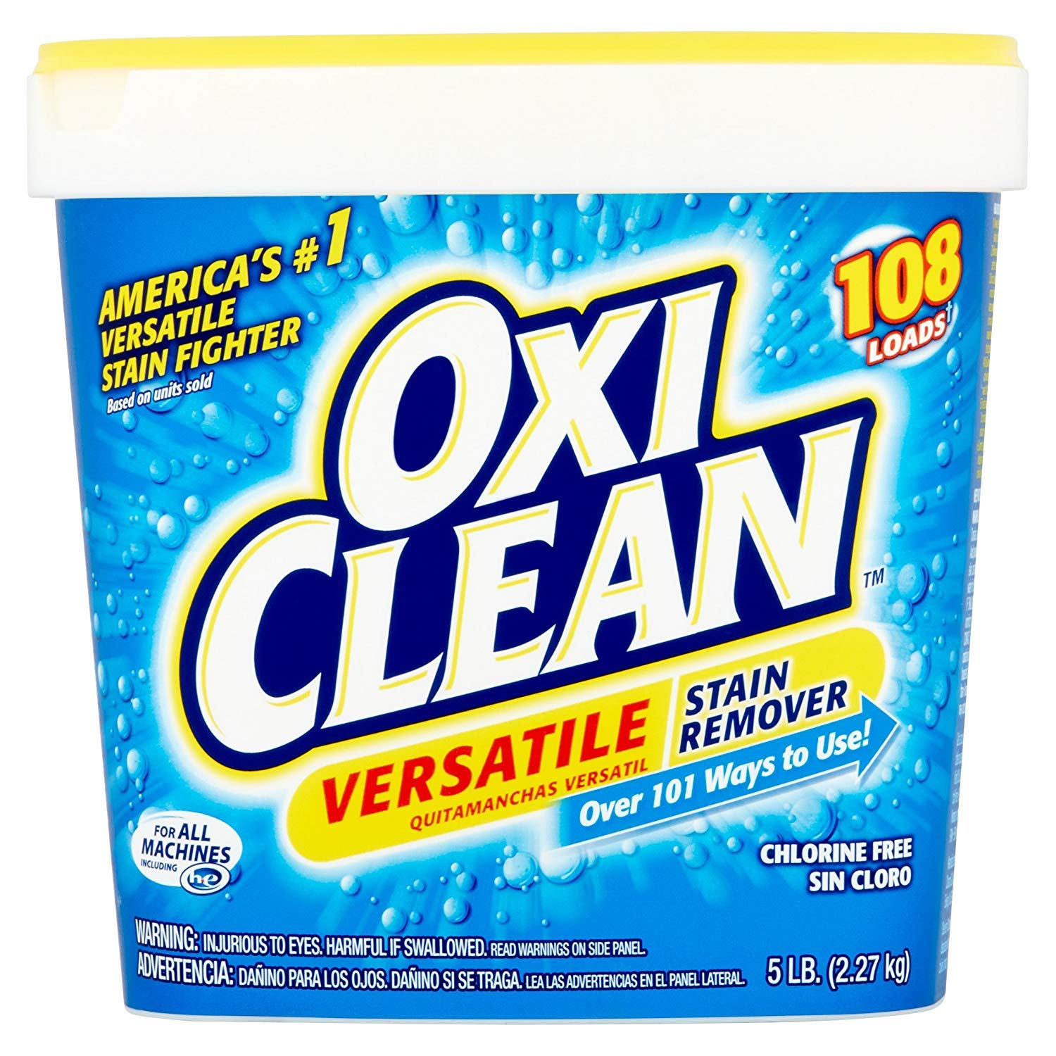 Amazon.com: OxiClean Versatile Stain Remover, 5 lbs (2.27 kg) (1 ...