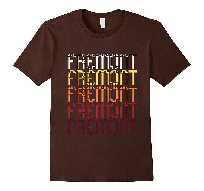 Fremont, NE | Vintage Style Nebraska T-shirt-Art