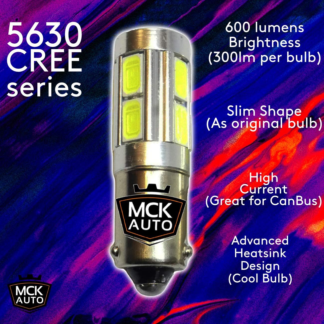 2x Citroen C4 MK1 Genuine Osram Ultra Life High Main Beam Headlight Bulbs Pair
