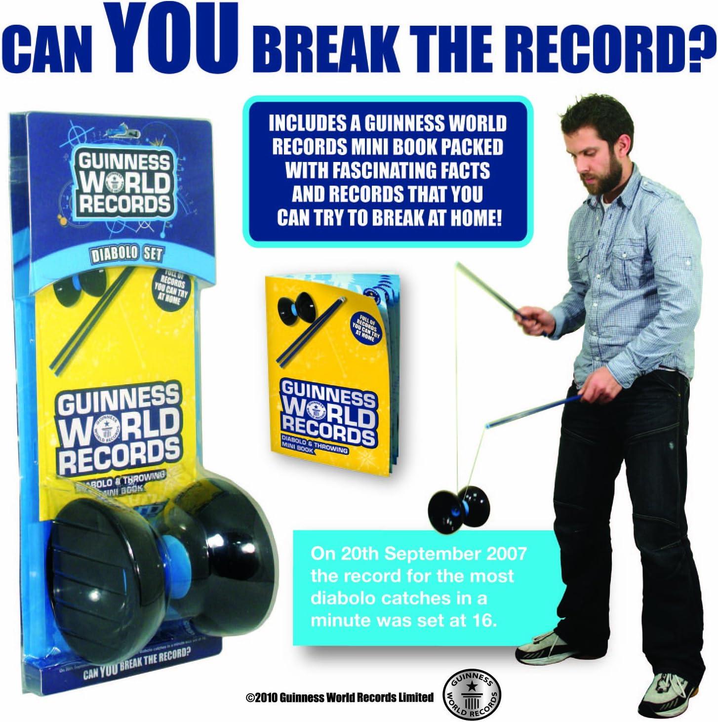 Guinness World Records Paladone Diabolo - Set de 16 Hojas de Mini Libro a Todo Color: Amazon.es: Juguetes y juegos