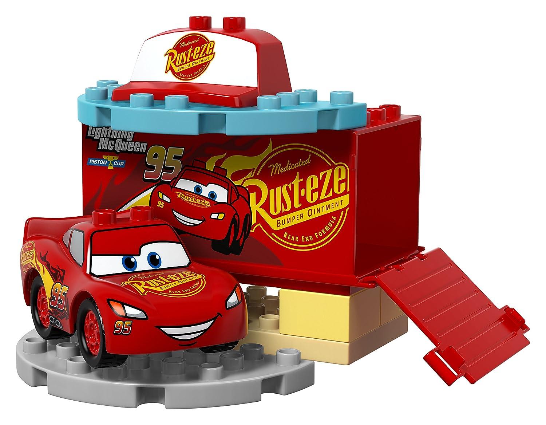 Amazoncom Lego Duplo Disney Cars 3 Flos Cafe Toys Games
