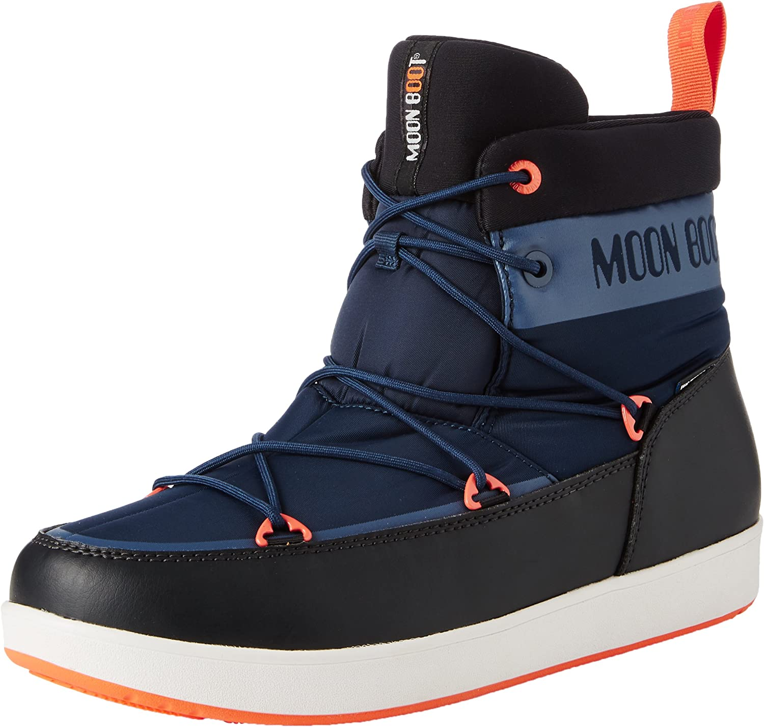 Moon Boot Neil Mens Trainers Blue