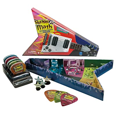 Educational Insights Rockin' Math Game: Toys & Games