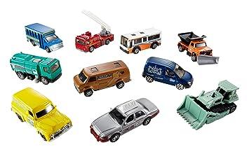 Matchbox Coffret Modele De 10 Petites Mattel Aleatoire 34307 Voitures 3qj5AL4R