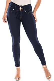 2d71a9a87751cd Curvify High Waisted Butt Lifting Stretch Jeans | Slimming Lift Skinny Jeans  837