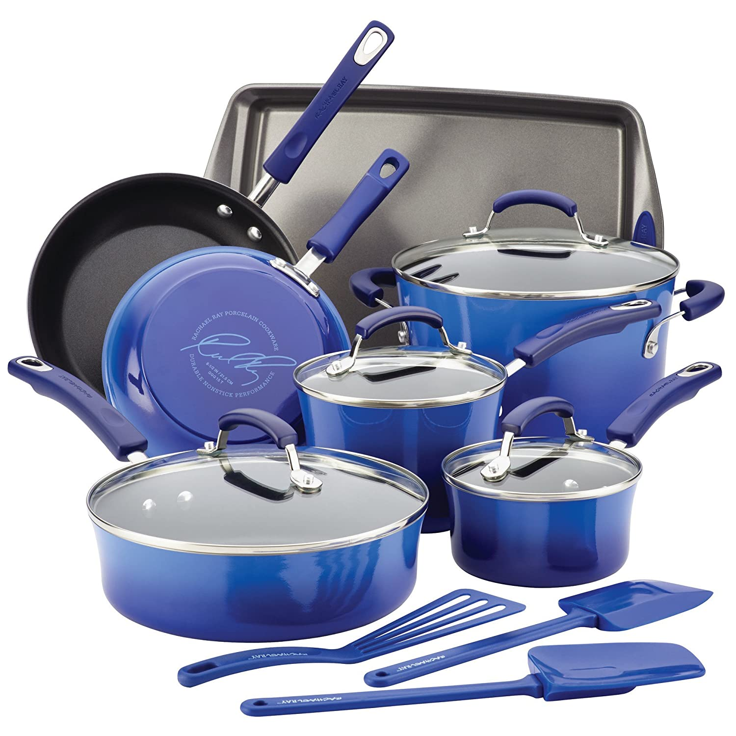 Rachael Ray Hard Enamel Cookware