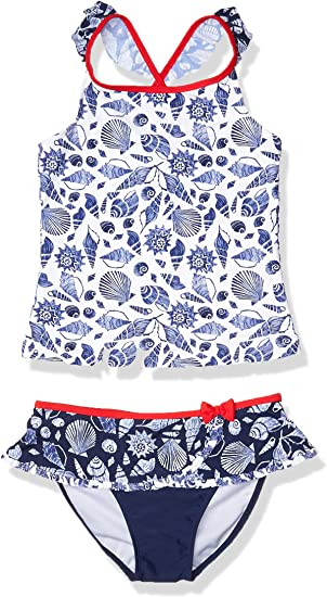 Tommy Bahama Girls Two-Piece Bikini Swimsuit Bathing Suit