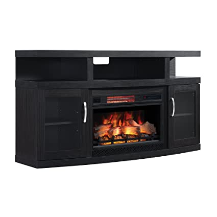 Amazon Com Classicflame 26mm5508 Nb04 Cantilever Tv Stand For Tvs
