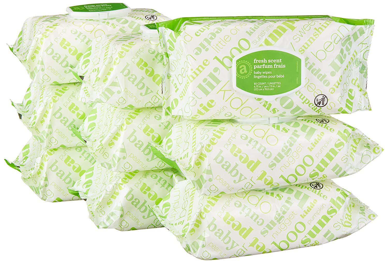 Elements Baby Wipes, Sensitive, 720 Count, Flip-Top Packs Inc.