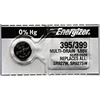 4PC Energizer 395 399 SR927SW SR927W Silver Oxide Watch Battery