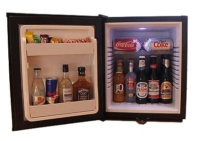 Mini Kühlschrank Effect : Woof hotel mini bar kühlschrank litres mit schloss ultra leise