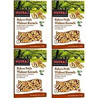 Nutraj Light Broken Bakers Pride Walnut Kernels 1Kg (4 X 250g) - Walnuts Without Shell