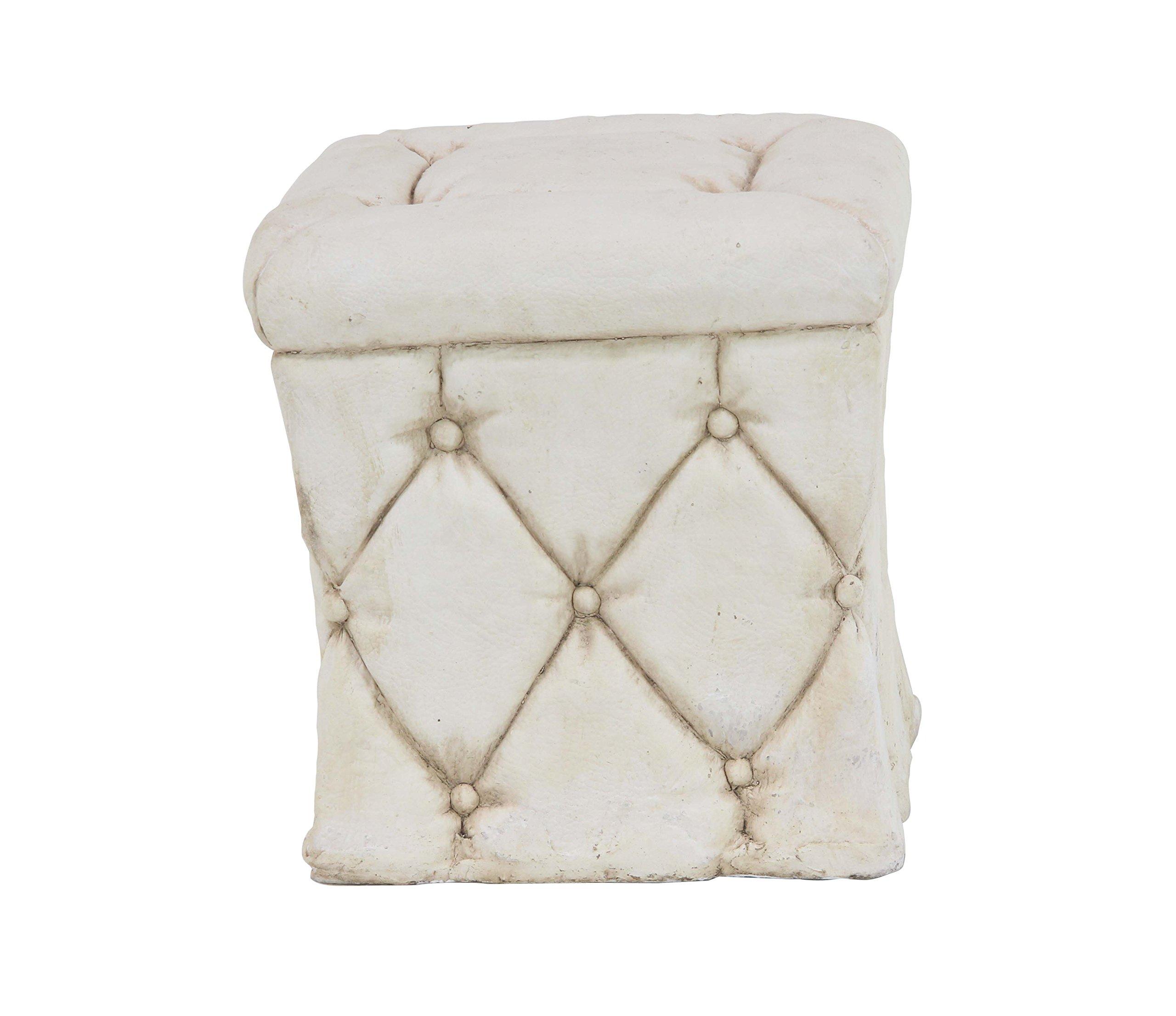 Deco 79 36839 Garden Pedestal, White