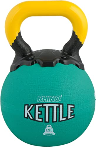 Champion Sports Rhino Kettle Bell Weights, 12-Pound