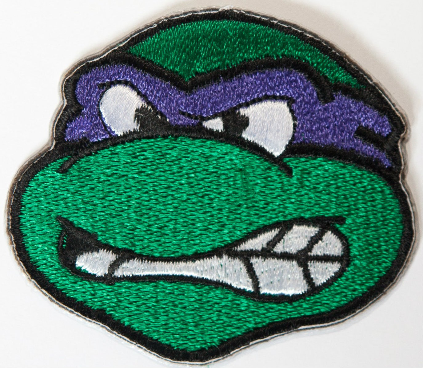 Amazon.com: Donatello de las Tortugas Ninja bordado hierro ...