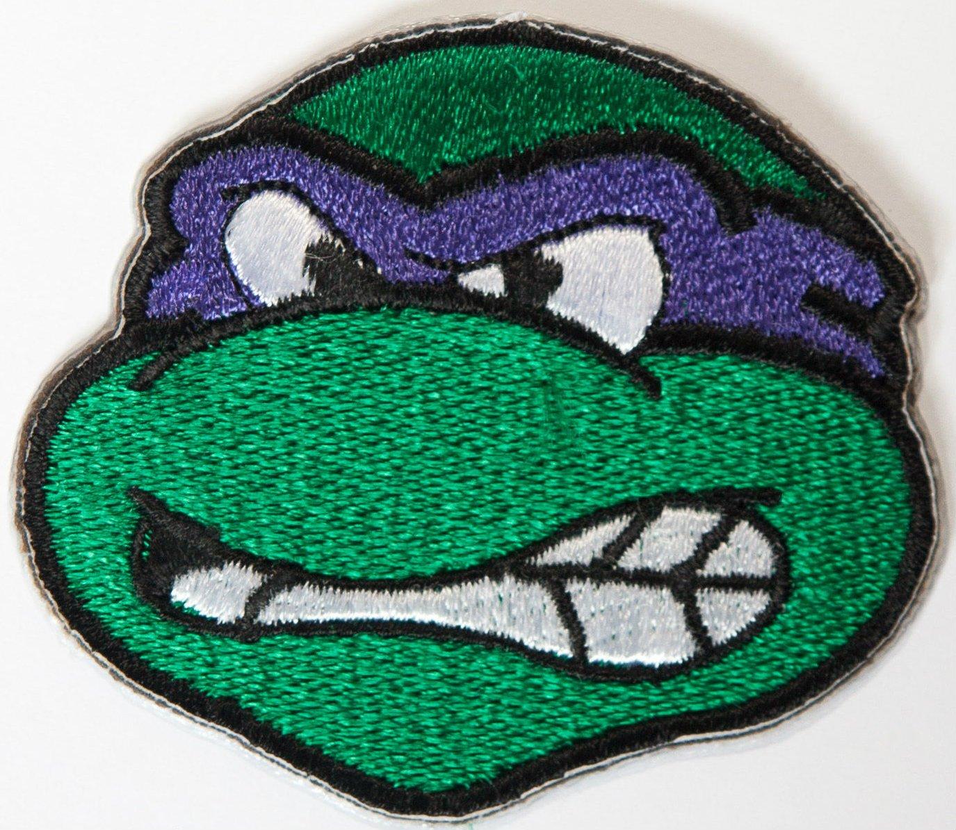Amazon.com: Donatello de las Tortugas Ninja bordado hierro ...