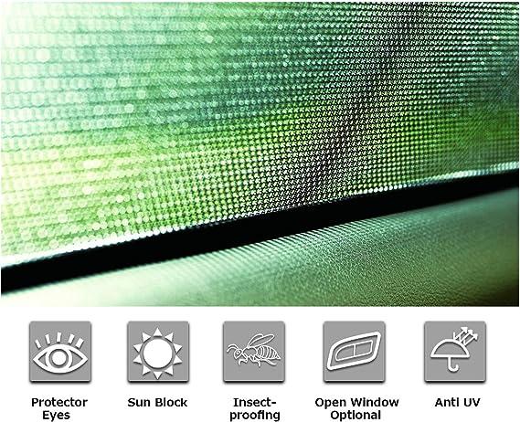 4 pi/èces RUIYA Pare-soleil de fen/être de voiture personnalis/é pour 2013-2018 BMW 3-Series F30,Premium Auto Sun Shade pour une protection compl/ète contre les rayons UV