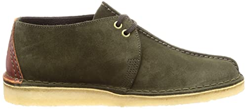 Clarks Originals Desert Trek Herren Schuhe Grün