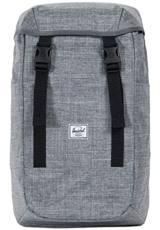 3c4e91a64b6 Herschel Iona Backpack Raven Crosshatch One Size
