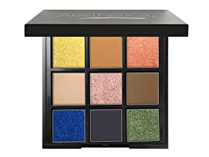 """Aesthetica""""BE"""" Eyeshadow Palette - Nine Shades - Glitter and Matte Eye Shadow Kit - (BE Bold)"""