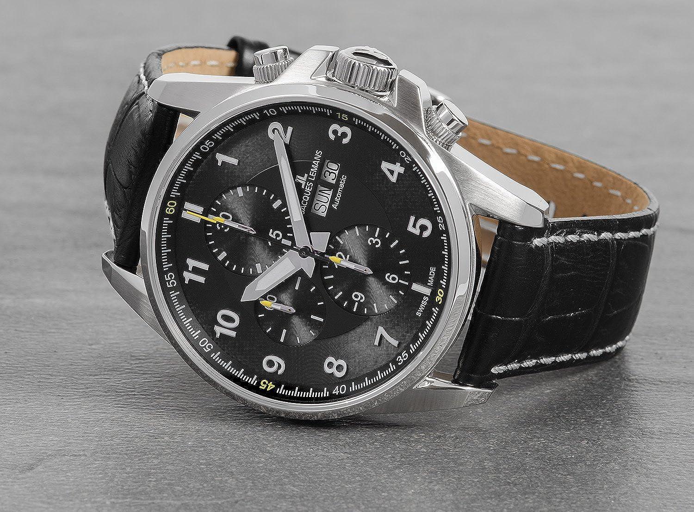 JACQUES LEMANS Reloj de Pulsera Smartwatch 1-1750A: Jacques Lemans ...