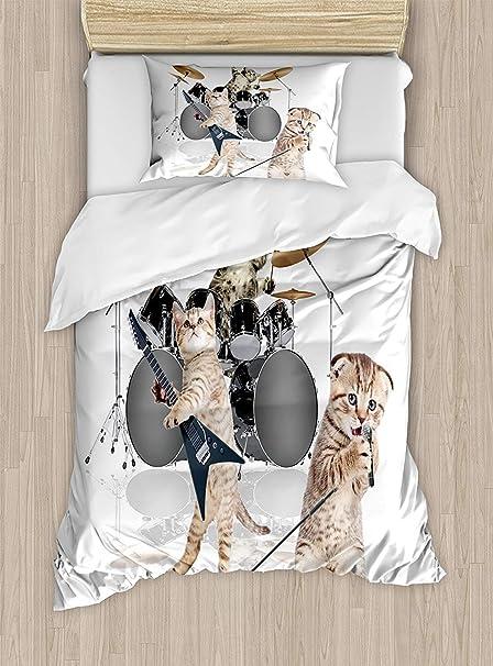 Amazoncom Child Queen Bedding Setsanimal Duvet Cover Setcool