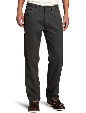 81fc2257c6 Wolverine Men's Hammerloop Cotton Duck Canvas Utility Pant, Charcoal, ...