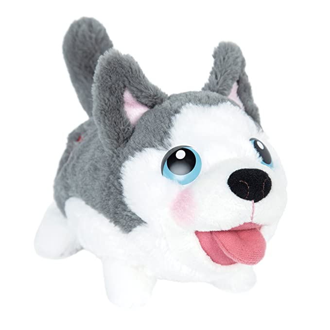Amazon.com: Chubby Puppies & Friends - Bumbling Plush - Husky: Toys & Games