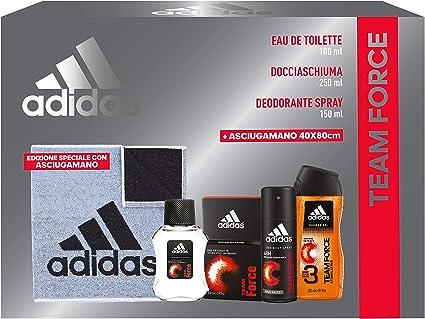 ADIDAS Idea Regalo Eau De Toilette Doccia Team Force Profumo