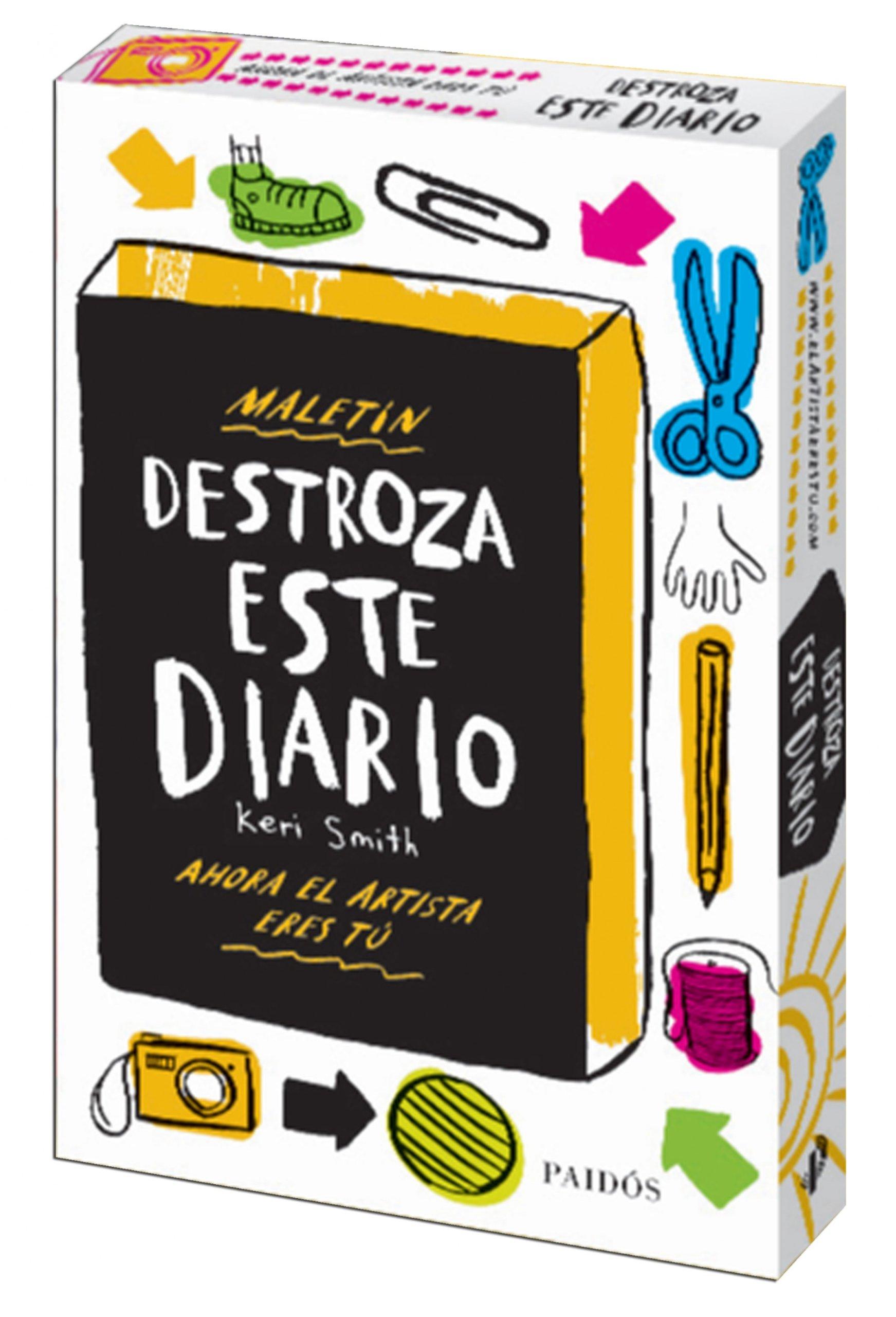 Maletín Destroza este diario (Libros Singulares): Amazon.es: Smith, Keri: Libros