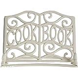 Premier Housewares Cast Iron Cookbook Stand - Cream