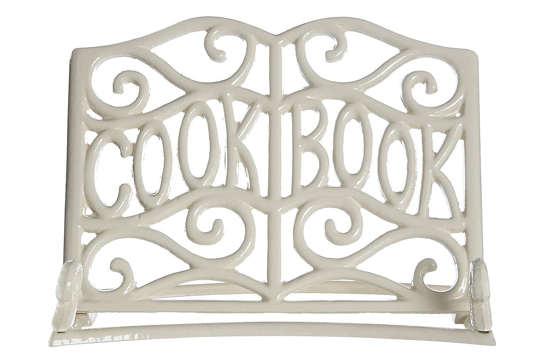 Premier Housewares Cast Iron Cookbook Stand - Cream by Premier Housewares 0812124