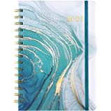 "2021 Planner - Academic Weekly & Monthly Planner with Flexible Hardcover, Jan 2021-Dec 2021, 6.37"" x 8.46"", Twin- Wire…"