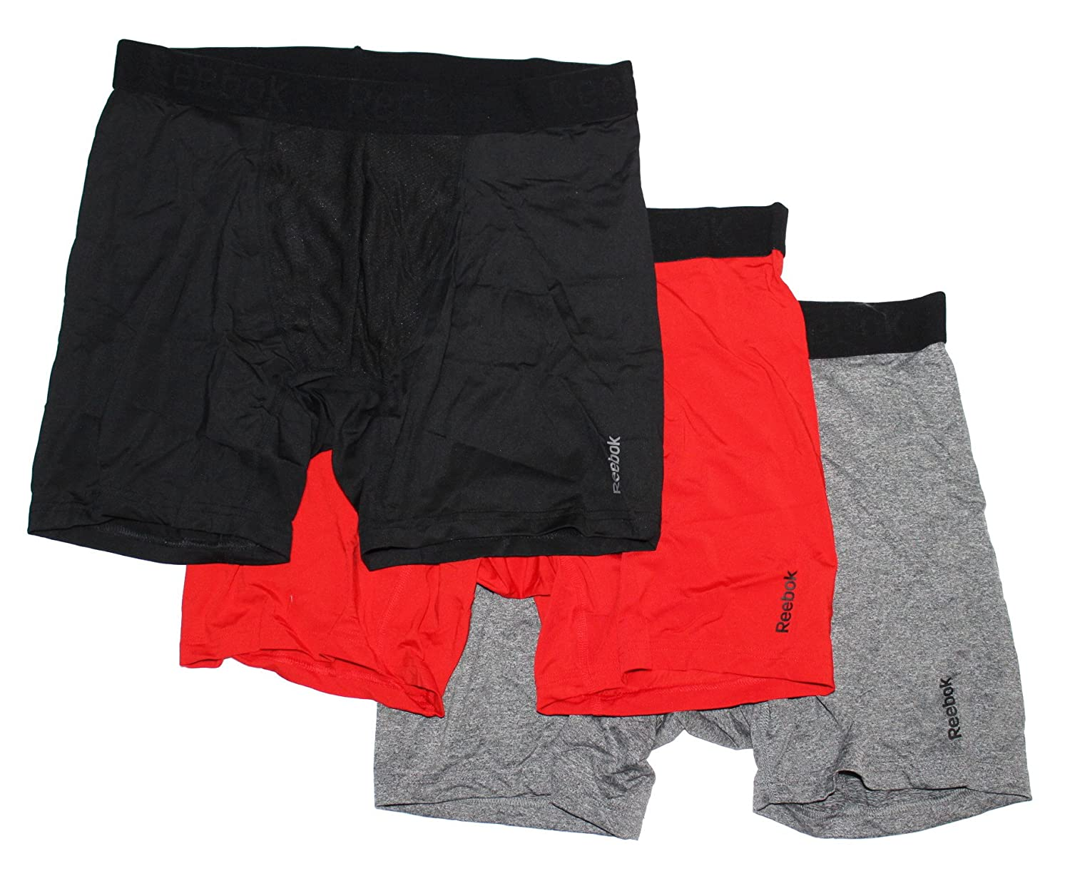 reebok 87958. reebok mens breathable 3 pack boxer briefs at amazon men\u0027s clothing store: 87958 b