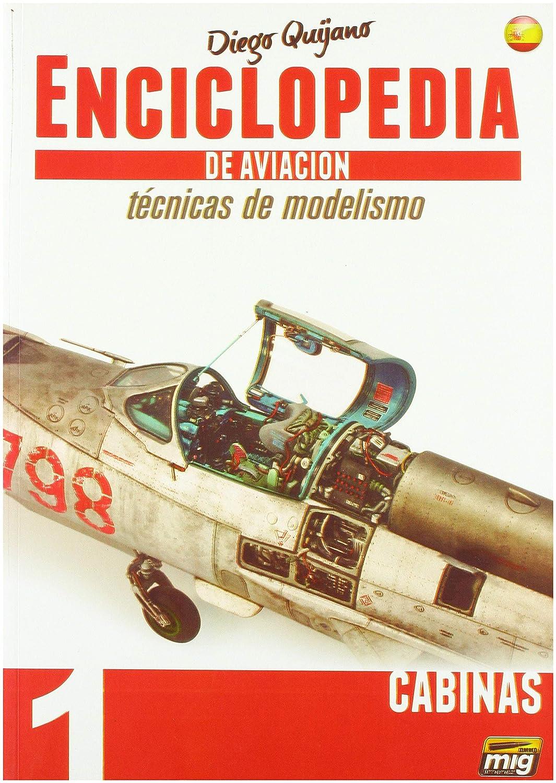 AMMO Munition mig-6060 ENCICLOPEDIA modelismo – tecnicas de Aviacion – Vol. 1 – Cabinas Castellano, Mehrfarbig
