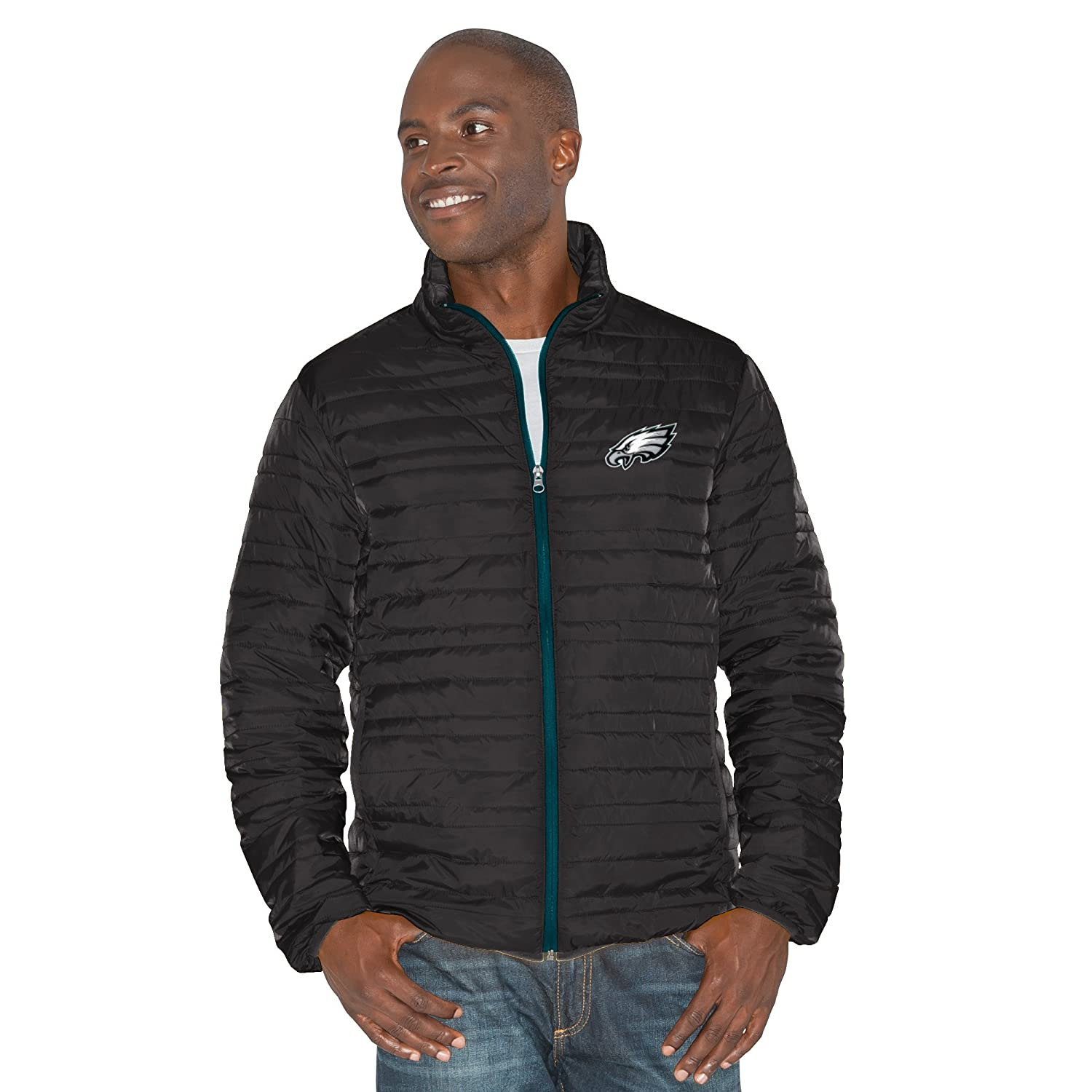 4X Black//Green G-III Sports by Carl Banks Adult Men Three and Out 3-in-1 Systems Jacket