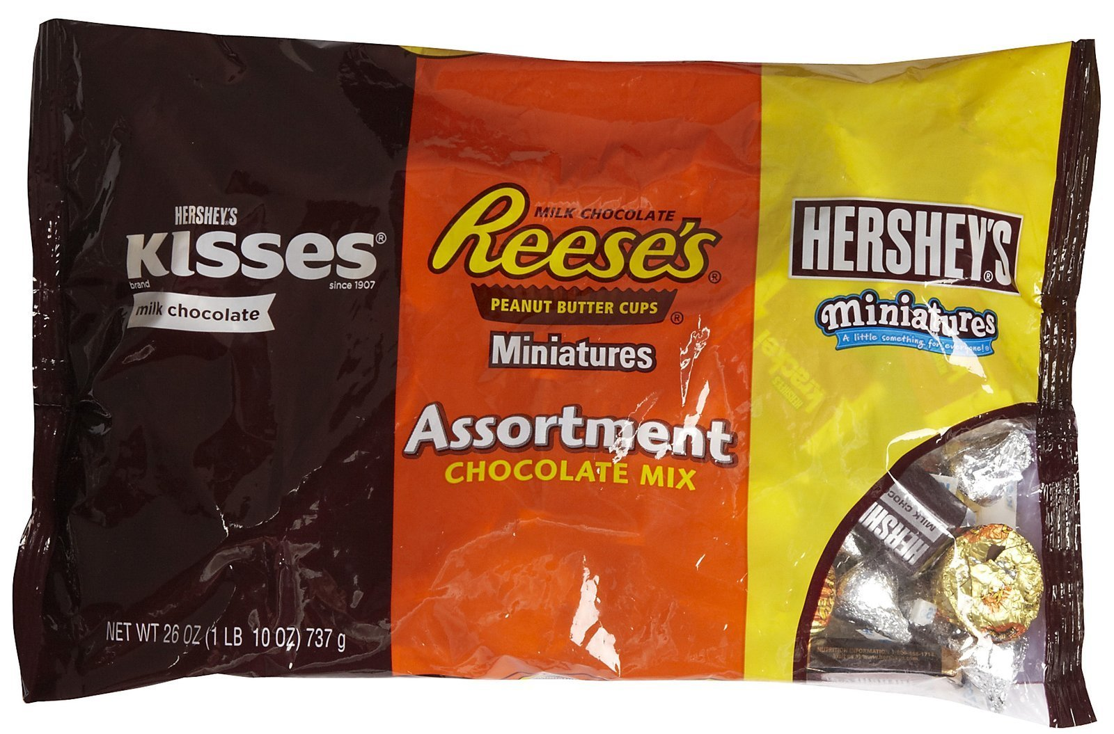 Hershey's Packaged Candy Assortment-26 oz